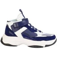 Pantofi Bărbați Pantofi sport stil gheata Calvin Klein Jeans Mordikai Alb, Albastru marim
