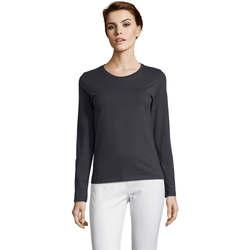 Îmbracaminte Femei Tricouri cu mânecă lungă  Sols Camiseta imperial Women Gris