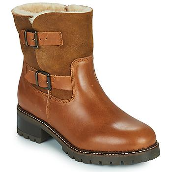 Pantofi Femei Botine Minelli LEILA Maro