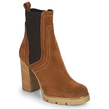 Pantofi Femei Botine Minelli VANILLA Maro