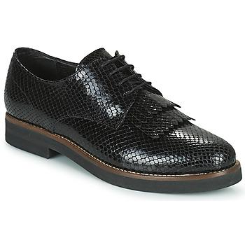Pantofi Femei Pantofi Derby Minelli SOLENNA Negru