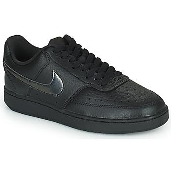 Pantofi Femei Pantofi sport Casual Nike WMNS NIKE COURT VISION LOW Negru
