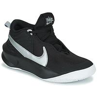 Pantofi Copii Pantofi sport stil gheata Nike TEAM HUSTLE D 10 (GS) Negru / Argintiu