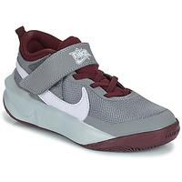 Pantofi Copii Pantofi sport stil gheata Nike TEAM HUSTLE D 10 (PS) Gri / Bordo