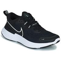 Pantofi Bărbați Trail și running Nike NIKE REACT MILER 2 Negru / Alb