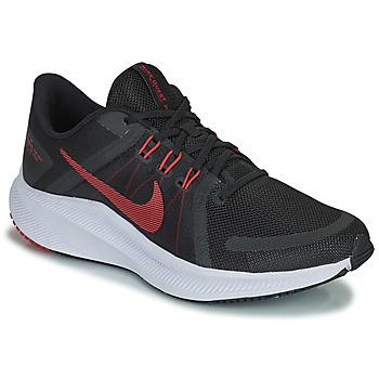 Pantofi Bărbați Trail și running Nike NIKE QUEST 4 Negru / Roșu