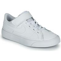 Pantofi Copii Pantofi sport Casual Nike NIKE COURT LEGACY (PSV) Alb