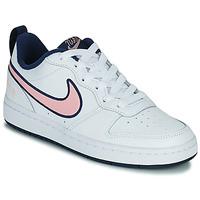 Pantofi Copii Pantofi sport Casual Nike COURT BOROUGH LOW 2 SE1 (GS) Alb / Roz