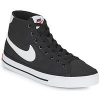 Pantofi Femei Pantofi sport Casual Nike W NIKE COURT LEGACY CNVS MID Negru / Alb