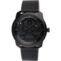 Ceasuri & Bijuterii Bărbați Ceasuri Analogice Police PL15714JSB.02A, Quartz, 44mm, 3ATM Negru