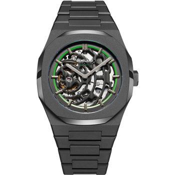 Ceasuri & Bijuterii Bărbați Ceasuri Analogice D1 Milano SKBJ07, Automatic, 42mm, 5ATM Negru