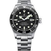 Ceasuri & Bijuterii Bărbați Ceasuri Analogice Aeronautec ANT-44075-01, Automatic, 44mm, 50ATM Argintiu