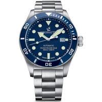 Ceasuri & Bijuterii Bărbați Ceasuri Analogice Aeronautec ANT-44075-02, Automatic, 44mm, 50ATM Argintiu
