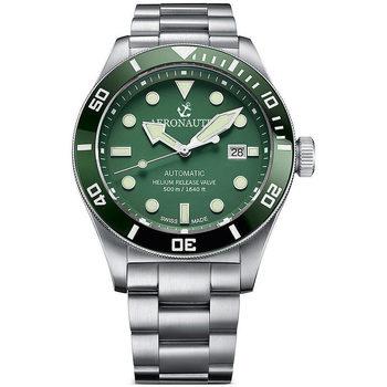 Ceasuri & Bijuterii Bărbați Ceasuri Analogice Aeronautec ANT-44075-03, Automatic, 44mm, 50ATM Argintiu