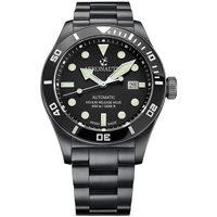 Ceasuri & Bijuterii Bărbați Ceasuri Analogice Aeronautec ANT-44075-04, Automatic, 44mm, 50ATM Negru