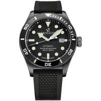 Ceasuri & Bijuterii Bărbați Ceasuri Analogice Aeronautec ANT-44075-05, Automatic, 44mm, 50ATM Negru