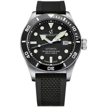 Ceasuri & Bijuterii Bărbați Ceasuri Analogice Aeronautec ANT-44075-06, Automatic, 44mm, 50ATM Argintiu