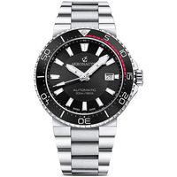 Ceasuri & Bijuterii Bărbați Ceasuri Analogice Aeronautec ANT-44086-01, Automatic, 43mm, 20ATM Argintiu