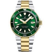 Ceasuri & Bijuterii Bărbați Ceasuri Analogice Aeronautec ANT-44086-04, Automatic, 43mm, 20ATM Auriu