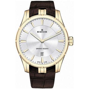 Ceasuri & Bijuterii Bărbați Ceasuri Analogice Edox 56002-37JC-AID, Quartz, 41mm, 10ATM Auriu