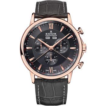 Ceasuri & Bijuterii Bărbați Ceasuri Analogice Edox 10501-37R-GIR, Quartz, 42mm, 3ATM Auriu