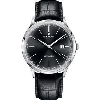 Ceasuri & Bijuterii Bărbați Ceasuri Analogice Edox 80106-3C-NIN, Automatic, 42mm, 5ATM Argintiu