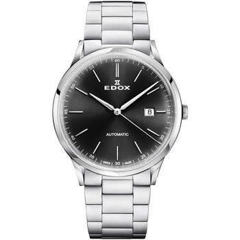 Ceasuri & Bijuterii Bărbați Ceasuri Analogice Edox 80106-3M-NIN, Automatic, 42mm, 5ATM Argintiu