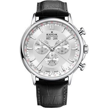 Ceasuri & Bijuterii Bărbați Ceasuri Analogice Edox 10501-3-AIN, Quartz, 42mm, 3ATM Argintiu