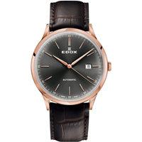 Ceasuri & Bijuterii Bărbați Ceasuri Analogice Edox 80106-37RC-GIR, Automatic, 42mm, 5ATM Auriu