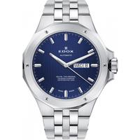 Ceasuri & Bijuterii Bărbați Ceasuri Analogice Edox 88005-3M-BUIN, Automatic, 43mm, 20ATM Argintiu