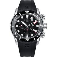 Ceasuri & Bijuterii Bărbați Ceasuri Analogice Edox 10242-TIN-NIN, Quartz, 45mm, 100ATM Argintiu