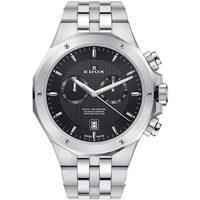 Ceasuri & Bijuterii Bărbați Ceasuri Analogice Edox 10110-3M-NIN, Quartz, 43mm, 20ATM Argintiu