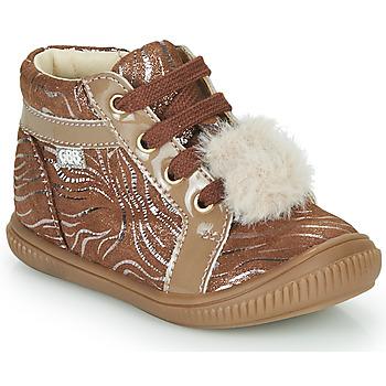 Pantofi Fete Pantofi sport stil gheata GBB ISAURE Bej