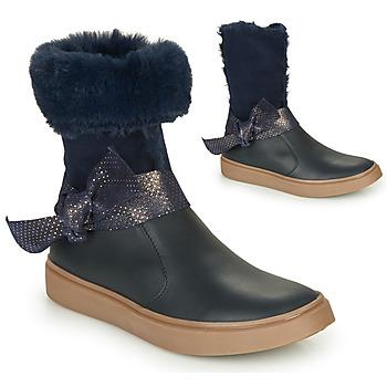 Pantofi Fete Cizme casual GBB EVELINA Albastru