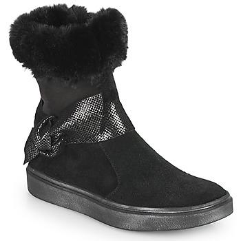 Pantofi Fete Cizme casual GBB EVELINA Negru