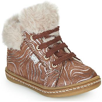 Pantofi Fete Pantofi sport stil gheata GBB JUNA Bej