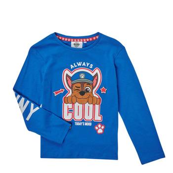 Îmbracaminte Băieți Tricouri cu mânecă lungă  TEAM HEROES  TEE PAW PATROL Albastru
