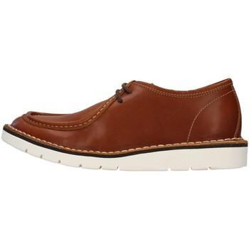 Pantofi Bărbați Pantofi Derby Re Blu' BK14 BROWN
