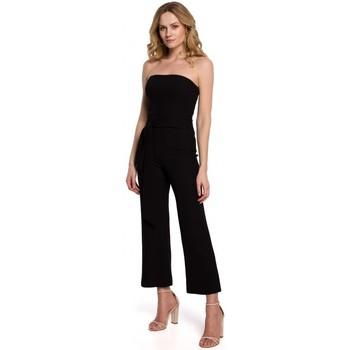 Îmbracaminte Femei Jumpsuit și Salopete Makover K045 Salopeta cu bretele - negru