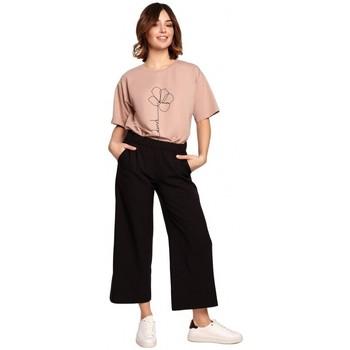 Îmbracaminte Femei Pantaloni fluizi și Pantaloni harem Be B188 Culottes cu talie elastică - negru
