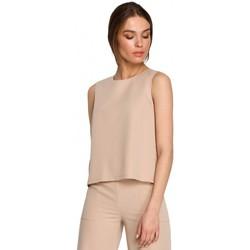 Îmbracaminte Femei Topuri și Bluze Style S257 Bluză fără mâneci - negru