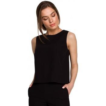Îmbracaminte Femei Topuri și Bluze Style S257 Bluză fără mâneci - verde