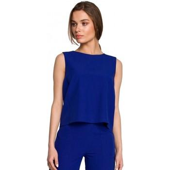 Îmbracaminte Femei Topuri și Bluze Style S258 Rochie blazer fără mâneci - bej