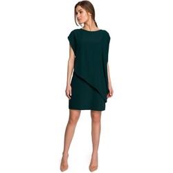 Îmbracaminte Femei Rochii scurte Style S262 Rochie în straturi - verde
