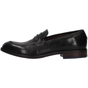 Pantofi Bărbați Mocasini Re Blu' 7766 BLACK