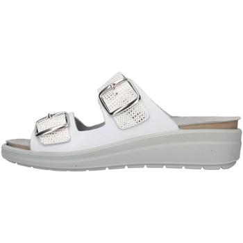 Pantofi Femei Papuci de vară Melluso Q60215 WHITE