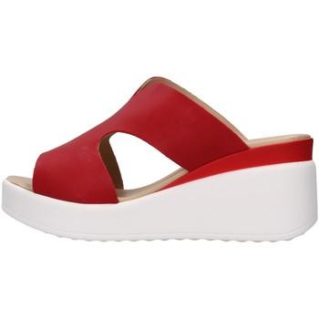Pantofi Femei Papuci de vară Melluso 019149 RED