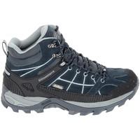 Pantofi Bărbați Drumetie și trekking Elementerre Sonora Marine Gris albastru