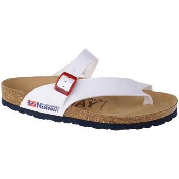 Pantofi Femei  Flip-Flops Geographical Norway Sandalias Infradito Donna Blanc