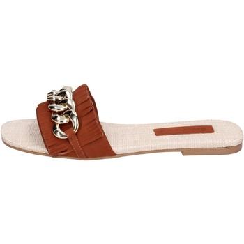Pantofi Femei Papuci de vară Miss Unique Sandale BH145 Maro